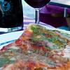 Pesto Margherita Pizza - Vernazza, Italy (Cinque Terra)