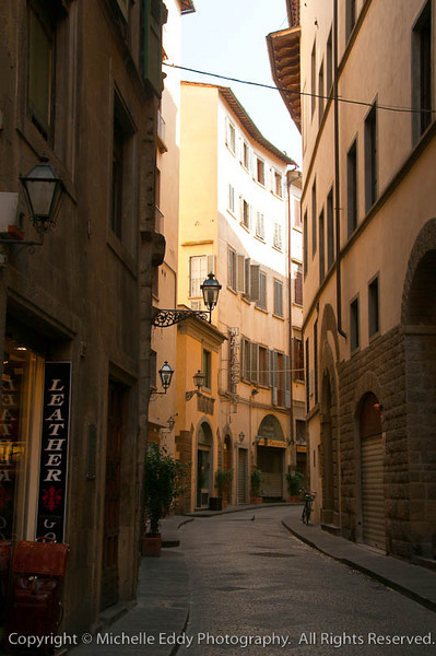 City Street - Florence, Italy