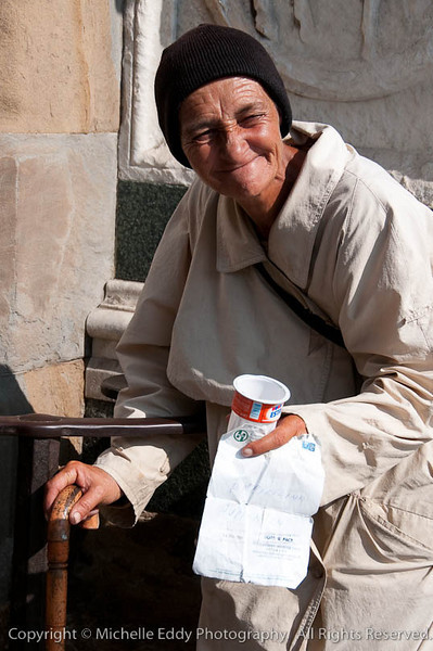Old Woman - Florence, Italy