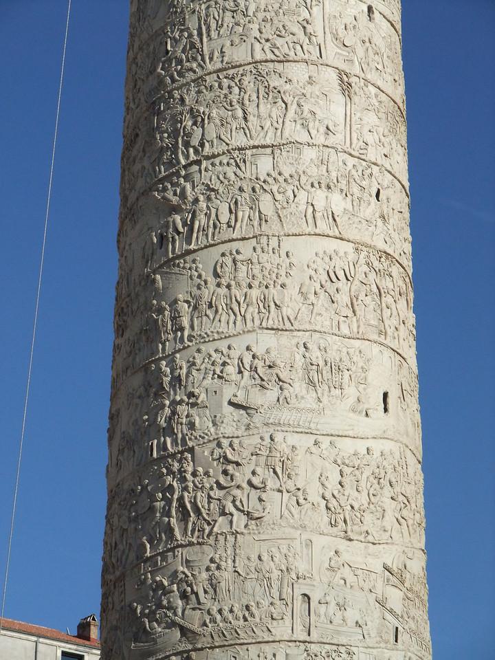 trajan's column detail