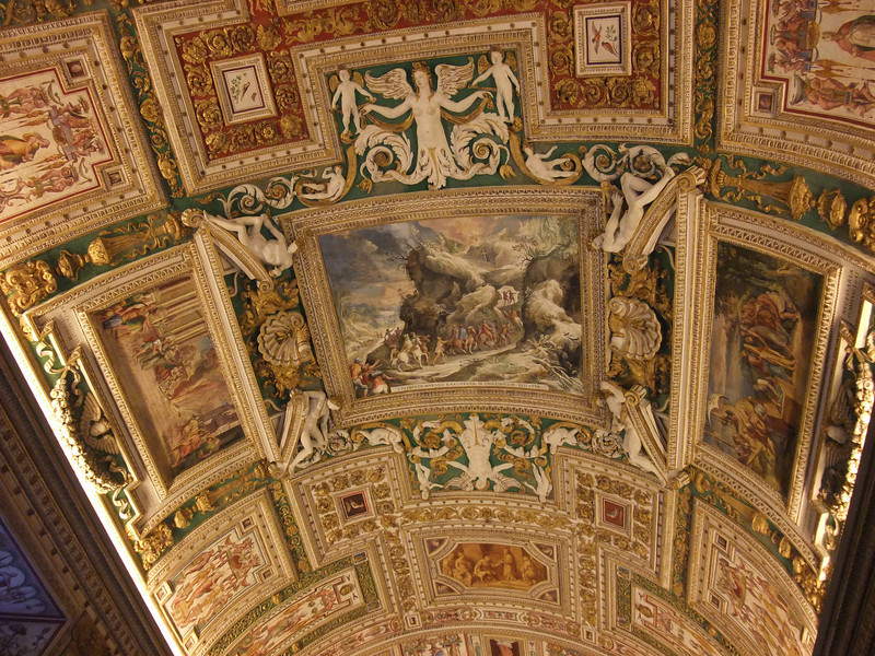 vatican ceiling detail