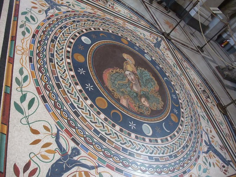 vatican floor mosaic