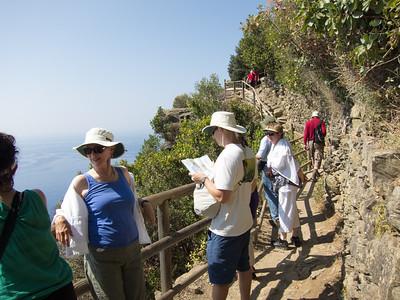Cinque Terre trail, from Vernazza to Monterosso