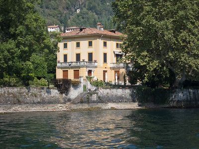 Lake Como, George Clooney's estate