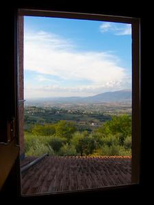 Montefalco, from the Villa Pambuffetti