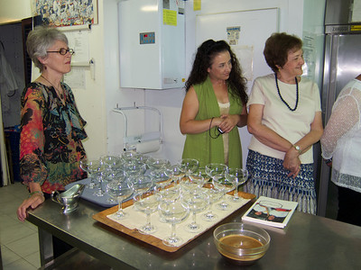 Montefalco, cooking demonstration at Villa Pambuffetti (with Donielle Borgo & Mary Slattery)
