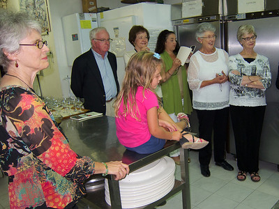 Montefalco, in the kitchen at Villa Pambuffetti