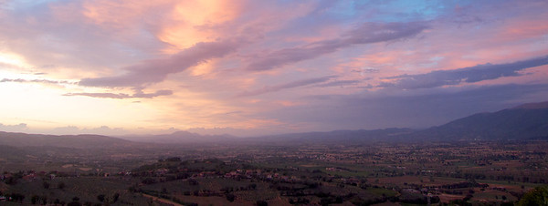 Montefalco sunset