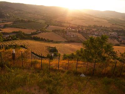 View of countryside, Orvieto