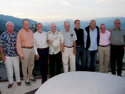 Stresa, rooftop terrace at the Hotel La Palma