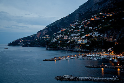 Amalfi at dusk