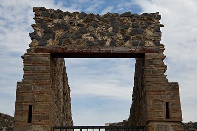 Stone Entryway, Pompeii