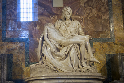 Pietà by Michelangelo, Vatican, Rome