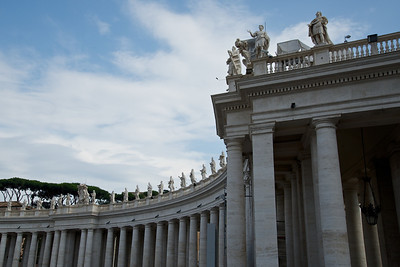 St Peter's Basilica Colonnade, Rome
