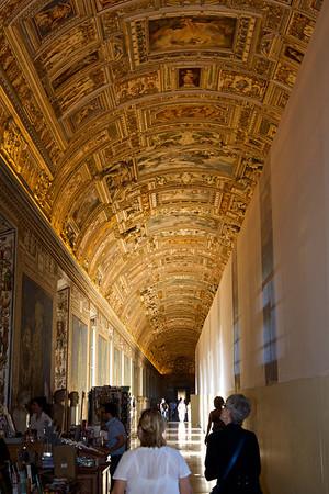Vatican hallway, Rome