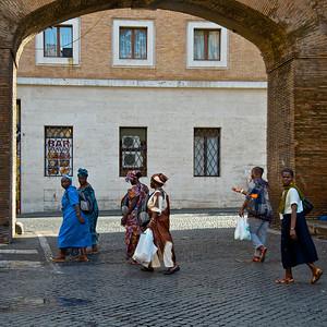 Immigrants, Rome