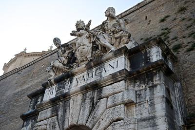 Vatican tour entrance, Rome
