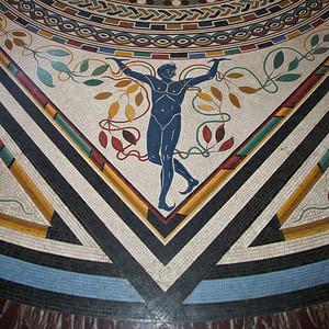 Vatican tile, Rome