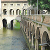 Gonzaga Castle Moat