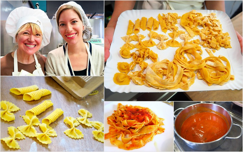 Learning to make pasta at Casa Artusi