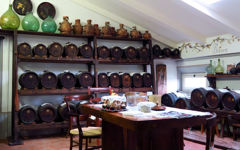 We visited Acetaia Di Giorgio to take a traditional Balsamic vinegar tour