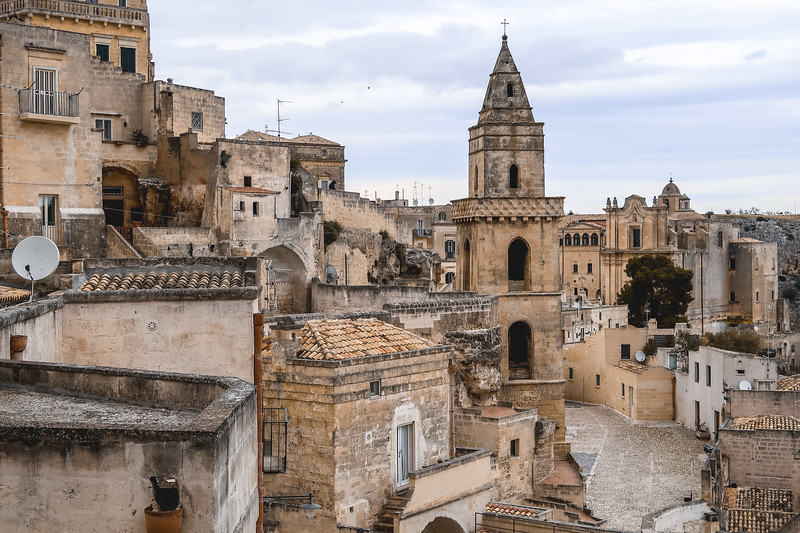Exploring Matera on foot - the best way to see the city.