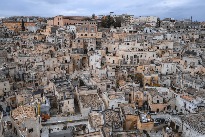 More views of Matera, Italy. The town looks straight out of bible times.