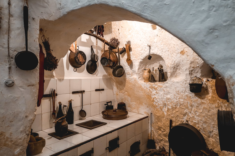 Casa Grotta di Vico Solitario let's you see how locals lived in Matera's cave dwellings.