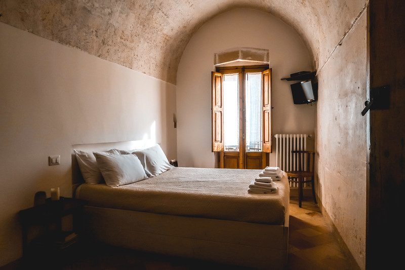 Cave hotels in Matera - where to stay in Matera, Italy.