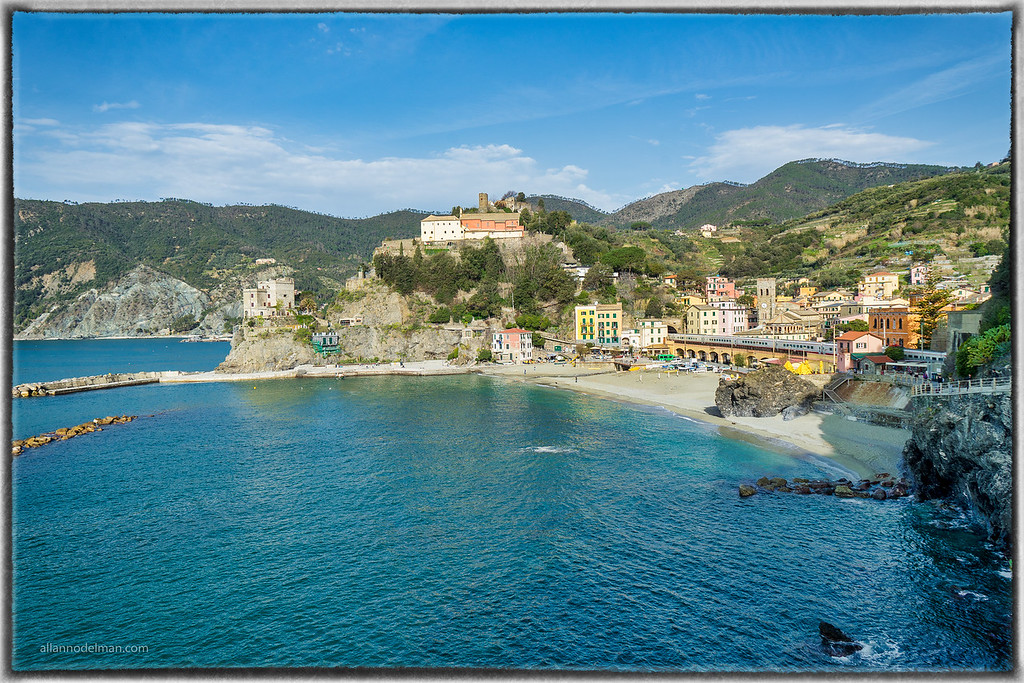 Looking Back at Monterosso as We Started Our Hike to Vernazza