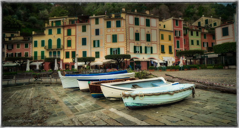 Portofino in the Rain