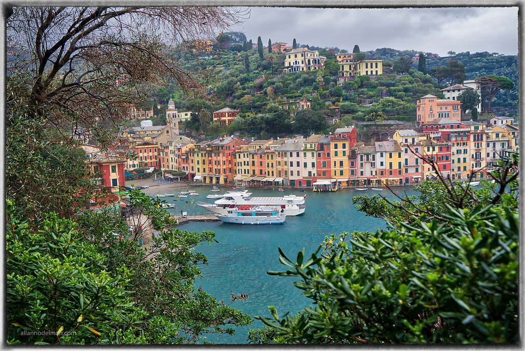 Portofino in the Rain