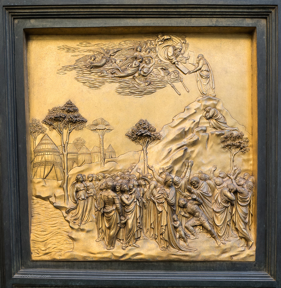 Panel From Door to Baptistery Florence