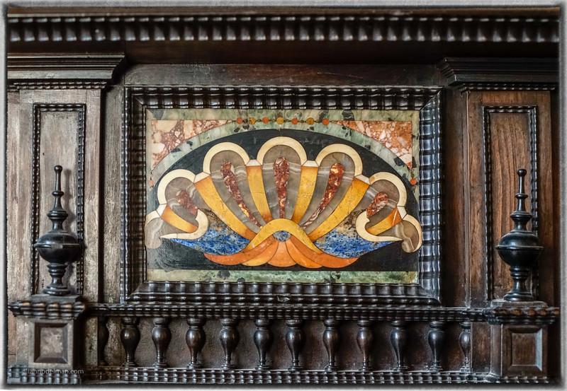 Pietra dura cabinet, Palazzo Vecchio in Florence