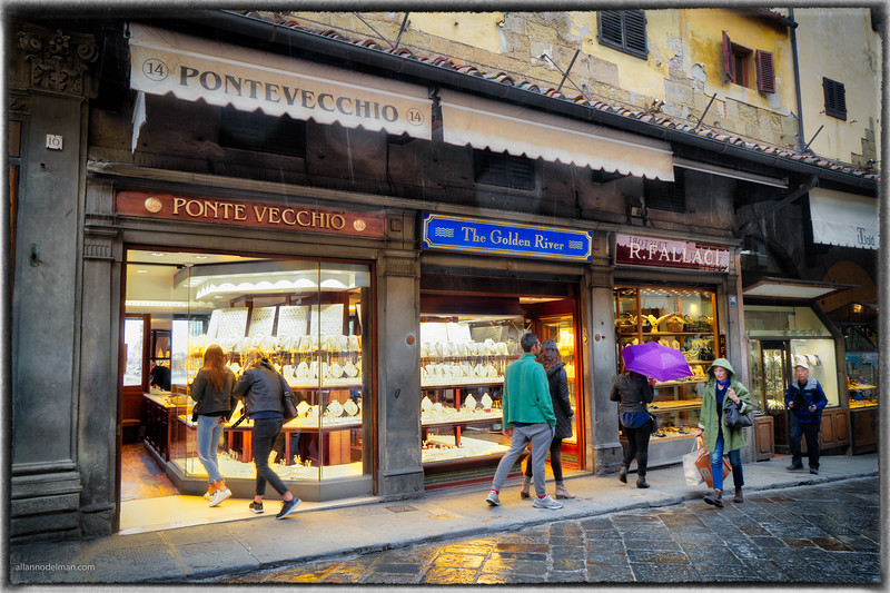 Jewelry Shops on Ponte Vecchio