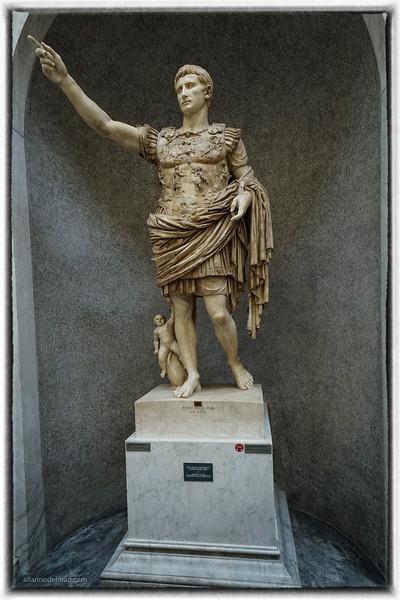 Augustus in Vatican Museum