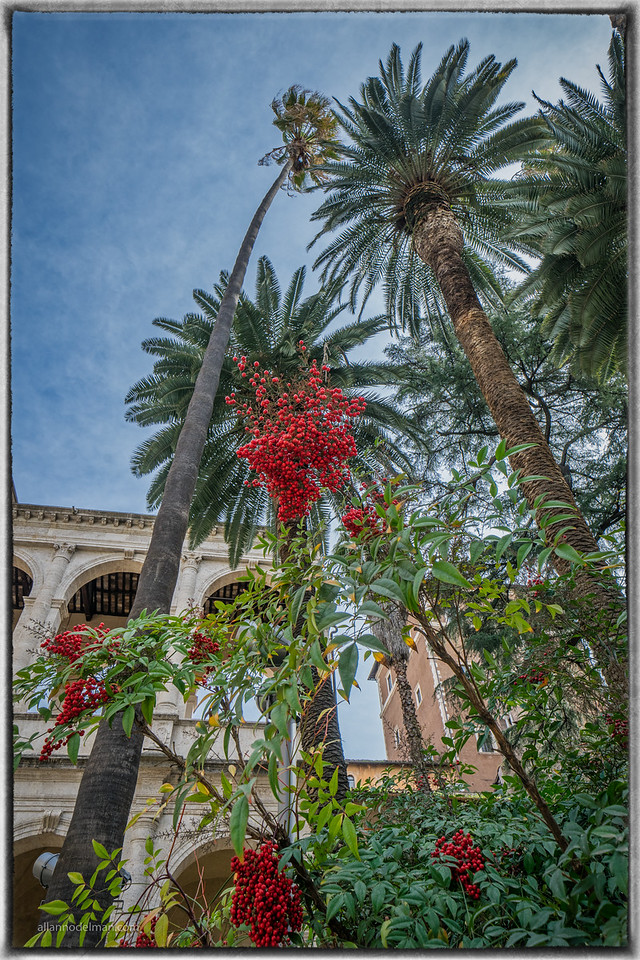 Courtyard in Rome
