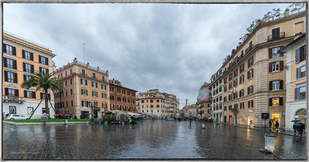 Touring Rome in the Rain