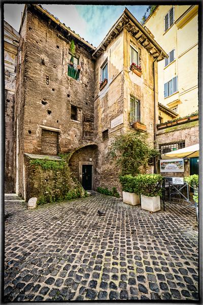 Jewish Ghetto Rome