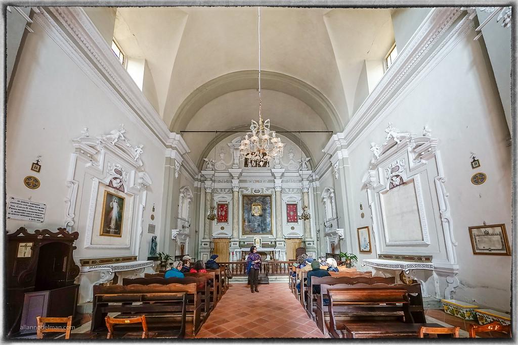 Pienza Chapel