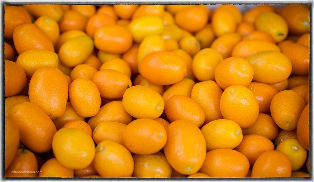 Kumquats at Venice Street Market
