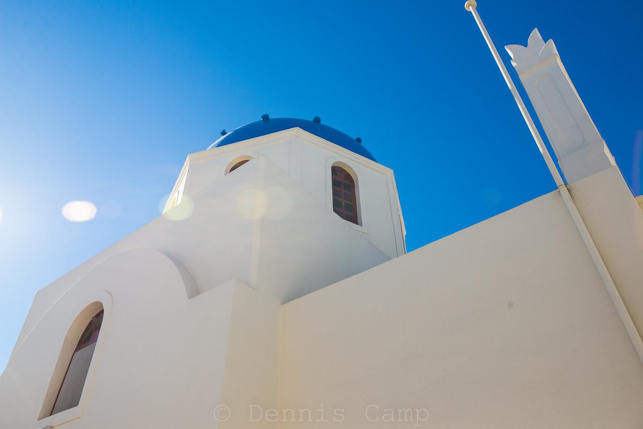 Blue Dome Flare