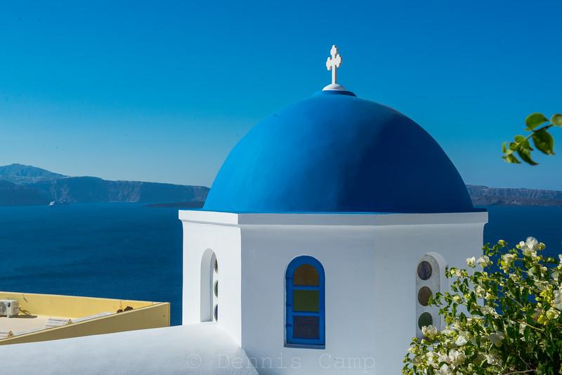 Blue Dome Blue Sea