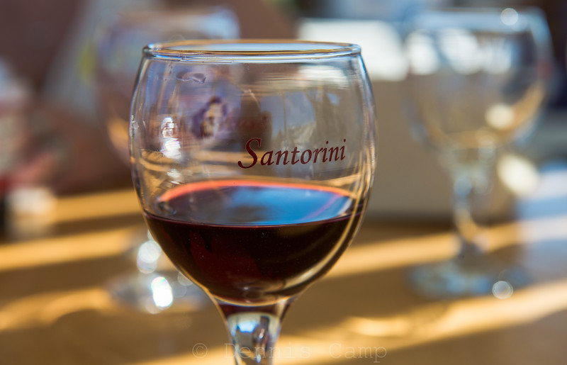 Santorini Greece Winery
