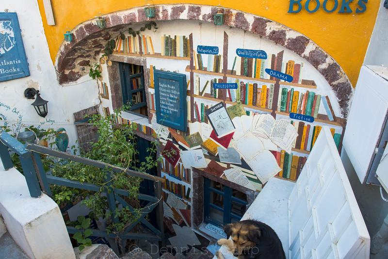 Santorini Book Store