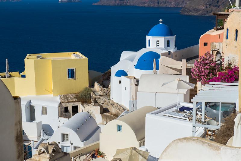 Blue Dome Church Colours