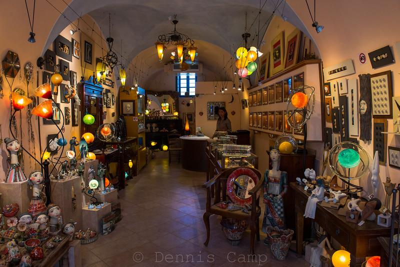 Santorini Light Shop