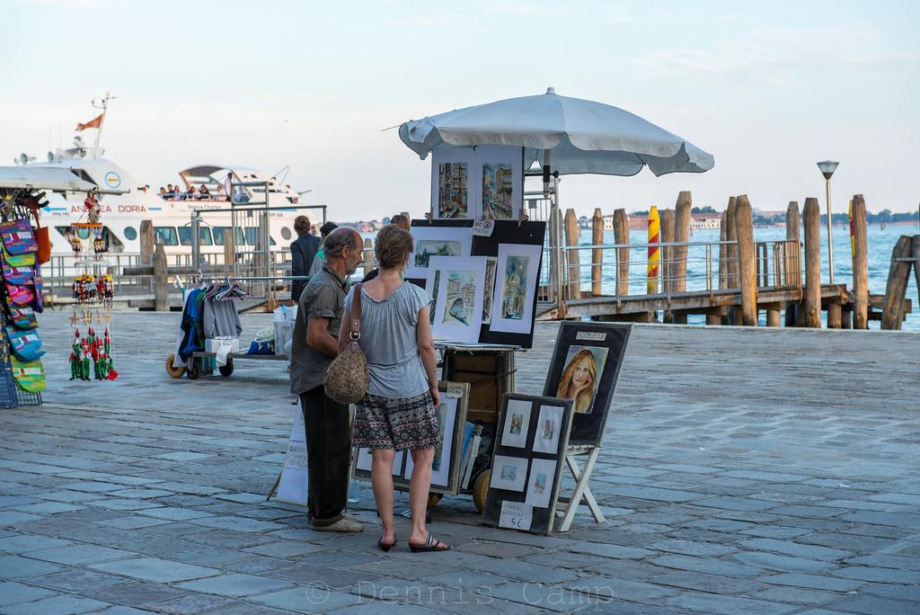 Art Shopping Venice Italy