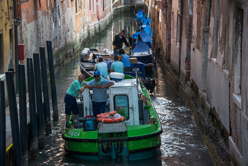 Waiting in the Canals of Venice