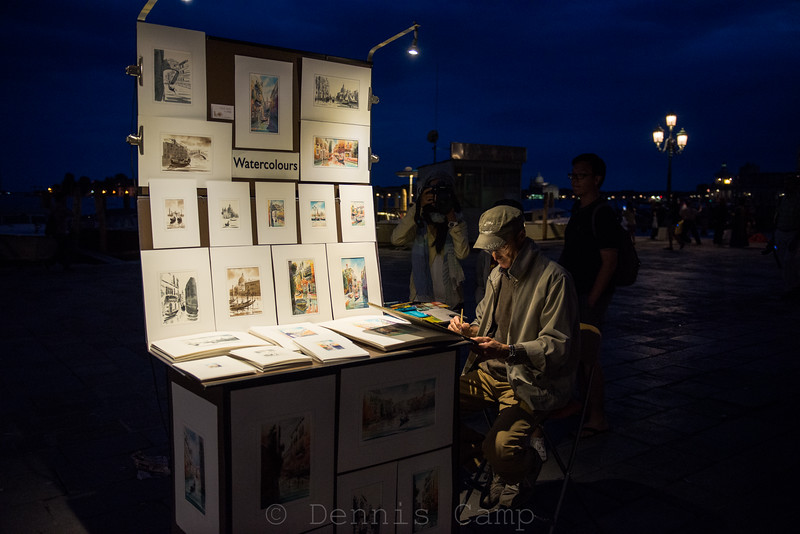 Watercolours on the Waterfront Venezia
